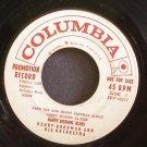 BENNY GOODMAN~Happy Sessions Blues~Columbia 45718 (Big Band Swing) Promo 45