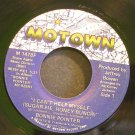 BONNIE POINTER~I Can't Help Myself (Sugar Pie, Honey Bunch)~Motown 1478F (Disco) VG+ 45