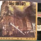 BOYS DON'T CRY~Cities on Fire~Profile 5114 (Synth-Pop) M- 45