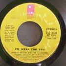 HAROLD MELVIN & THE BLUE NOTES~I'm Weak for You~Philadelphia Int'l 3543 (Funk)  45