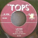 MIMI MARTEL~Lover~TOPS 334 (Jazz Vocals)  45