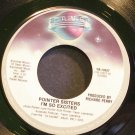 POINTER SISTERS~I'm So Excited~Planet 13327 (Disco) VG+ 45