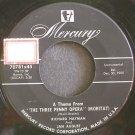 RICHARD HAYMAN & JAN AUGUST~Three Penny Opera~Mercury 70781 (Easy Listening)  45