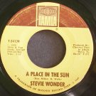 STEVIE WONDER~A Place in the Sun~Tamla 54139 (Soul)  45