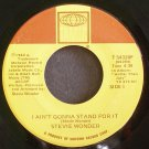 STEVIE WONDER~I Ain't Gonna Stand for it~Tamla 54320F (Soul)  45