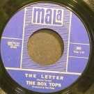 BOX TOPS~The Letter~Mala 565 (Soft Rock) 1st VG++ 45