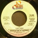 BRIGHTER SIDE OF DARKNESS~Love Jones~20th Century 2002 (Soul)  45