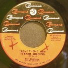 DOC SEVERINSEN~Love Theme From is Paris Burning~Command 4091 (Big Band Swing)  45