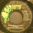 ENGELBERT HUMPERDINCK~Winter World of Love~Parrot 40044  45
