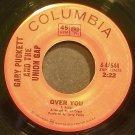 GARY PUCKETT & THE UNION GAP~Over You~Columbia 44644 (British Invasion)  45