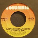 GLADYS KNIGHT & THE PIPS~A Friend of Mine~Columbia 02706 (Disco) VG+ 45