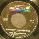 THE GRASS ROOTS~Midnight Confessions~Dunhill ABC 4144 (Folk-Rock) 1st 45