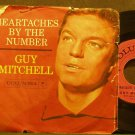 GUY MITCHELL~Heartaches by the Number~Columbia 41476 (Soft Rock)  45