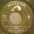 HANK SNOW~The Golden Rocket~RCA Victor 5086 1st Rare 45 EP