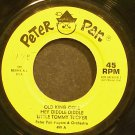 PETER PAN PLAYERS & JACK ARTHUR~Old King Cole~Peter Pan 499 (Children)  45