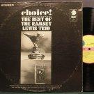 RAMSEY LEWIS TRIO~Choice! Best of the Ramsey Lewis Trio~Cadet 755 SD M- LP