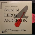 STRADIVARI STRINGS~Ping Pong Percussion, Sound of Leroy Anderson~Pirouette 32 SD VG+ LP