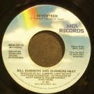 BILL SUMMERS~Seventeen~MCA 52115 (Funk)  45