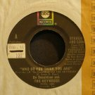 BO DONALDSON & THE HEYWOODS~Who Do You Think You Are~ABC 12006 VG++ 45