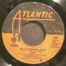 CHIC~My Forbidden Lover~Atlantic 3620 (Funk)  45