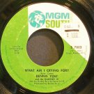 DENNIS YOST & CLASSICS IV~What am I Crying For?~MGM South 7002 (Soft Rock) VG+ 45