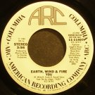 EARTH, WIND & FIRE~You~ARC 11407 (Soul) Promo VG+ 45