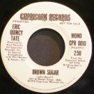 ERIC QUINCY TATE~Brown Sugar~Capricorn 0010 (Blues) Promo M- 45
