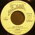 LAKESIDE~Turn the Music Up~Solar 4919 (Soul)  45