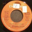 RAY, GOODMAN & BROWN~Happy Anniversary~Polydor 2135 (Disco) VG+ 45