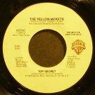 YELLOWJACKETS~Top Secret~Warner Bros. 29685 (Fusion) Promo 45