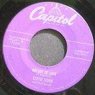 CLIFFIE STONE & HIS HEPCATS~Melody of Love~Capitol F3039 (Big Band Swing) Rare 45