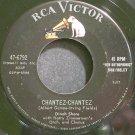 DINAH SHORE~Chantez-Chantez~RCA 6792 1st Rare VG++ 45