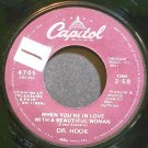 DR. HOOK~When You're in Love with a Beautiful Woman~Capitol 4705 (Soft Rock) VG+ 45