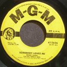 FRANK SANDY~Somebody Loves Me~MGM K12626 (Rock & Roll)  45