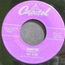 KAY STARR & DAVID CAVANAUGH~Swamp-Fire~Capitol 2595 (Jazz Vocals) VG+ 45