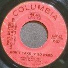PAUL REVERE & THE RAIDERS~Don't Take it So Hard~Columbia 44553 (Classic Rock)  45