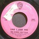 EDD BYRNES~Like I Love You~Warner Bros. 5087  45