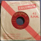 JOAN WEBER~It May Sound Silly~Columbia 40440 1st Rare VG++ 45
