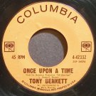 TONY BENNETT~Once Upon a Time~Columbia 42332 (Jazz Vocals)  45
