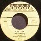 DIZZY BROWN~Cecelia~Teen 111 (Piano)  45