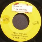 MARVIN GAYE~Pride and Joy~Tamla 54079 (Soul) 1st 45