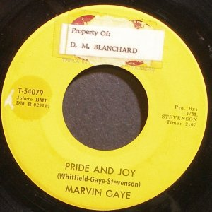 MARVIN GAYE~Pride and Joy~Tamla 54079 (Soul) 1st 45