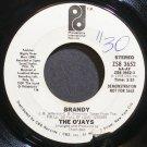THE O'JAYS~Brandy~Philadelphia Int'l 3652 (Soul) Promo 45