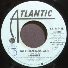 SPINNERS~The Rubberband Man (Promo)~Atlantic 3355 (Soul) Promo Rare VG+ 45
