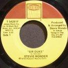 STEVIE WONDER~Sir Duke~Tamla 54281F (Soul) VG+ 45