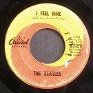 THE BEATLES~I Feel Fine~Capitol 5327 (British Invasion)  45