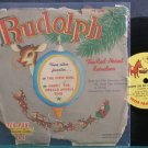 "DICK EDWARDS~Rudolph the Red Nose Reindeer~Peter Pan 31 (Christmas) VG+ 7"" 78 RPM Vinyl"