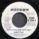 EDWIN STARR~Don't it Feel Good to Be Free~Motown 1284F B (Northern Soul) Promo VG+ 45