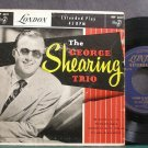 GEORGE SHEARING TRIO~The George Shearing Trio~London 6031 VG+ England 45 EP