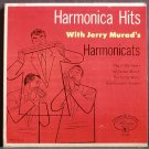 JERRY MURAD'S HARMONICATS~Harmonica Hits (PS)~Mercury 1-3002 45 EP